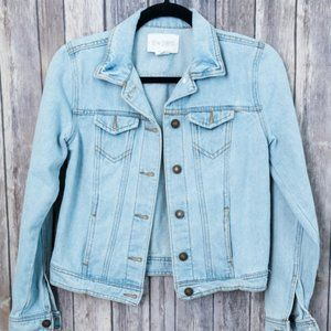 Tilly's Sky and Sparrow Light Wash Jean Jacket XS